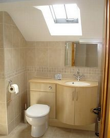 En-suite bathroom  of Roeburndale barn