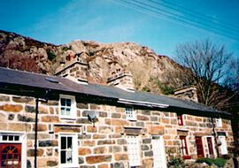 Classical stone built miner's cottage