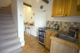 Fully equipped kitchen in our 4 star cottage