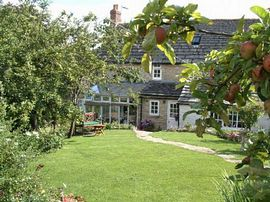 The garden at Plum Tree Cottage
