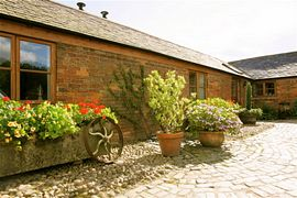 Abbey Farm self catering units.