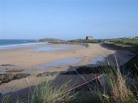 Fistral Beach is only a 3 minute stroll