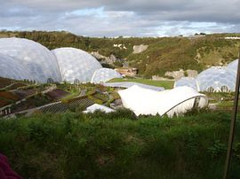 The Eden Project, 40 minute drive
