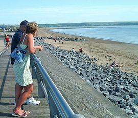 Beach at Llanelli