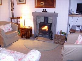 Sitting Room with Multi-fuel Stove