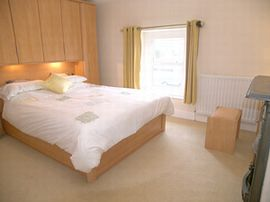 Both double bedrooms have king size beds