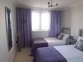 The twin bedroom