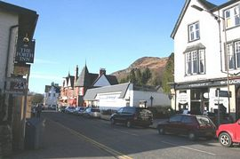 Aberfoyle high street