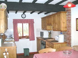 Country style kitchens.