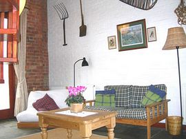 The Granary living room.