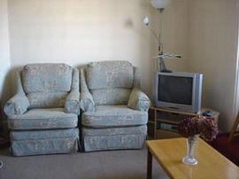 Sitting room with TV and DVD