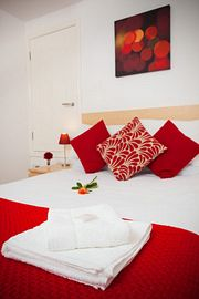 Indulge in our comfortable bedroom