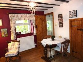 Dining Room Pen Y Banc Holiday Cottage