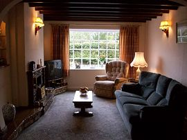 Lounge at Stroma Cottage
