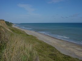 Coastal walk towards Cromer