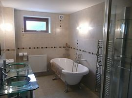 The main bathroom. Bedroom 1 has an en-suite