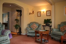 Beautiful lounge at Grange Cottage, Middleham