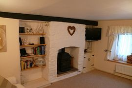 Candlemas Cottage Living Room