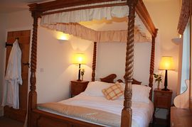Uppermoor Farmhouse - one of the bedrooms