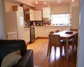 The fully fitted kitchen, Royal Road apartment