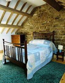 One of the barn bedrooms