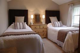 Twin room at Cowlingholme Cottage in Askrigg.