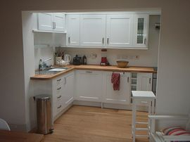 Our newly fitted kitchen