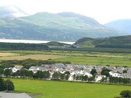 view from upper Harlech