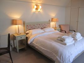 The Cottesmore Bedroom at Garden Cottage
