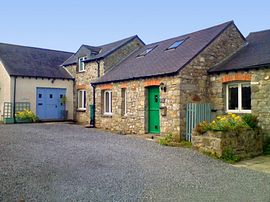 Three charming holiday cottages.