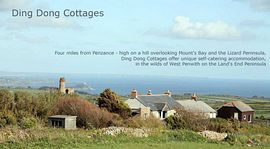 View of cottages and land/seascape