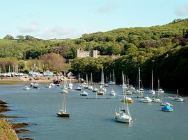 Watermouth Cove and castle